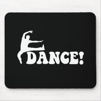 modern dance mouse pad