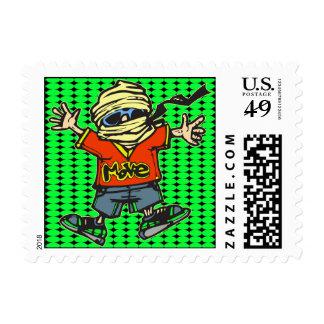 Modern Dance Moves Postage Stamp