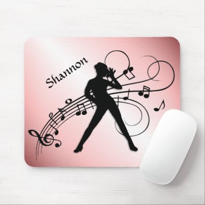 Modern Dance Personal Mouse Pad