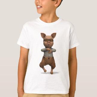 Modern Dance Style Pig T-Shirt