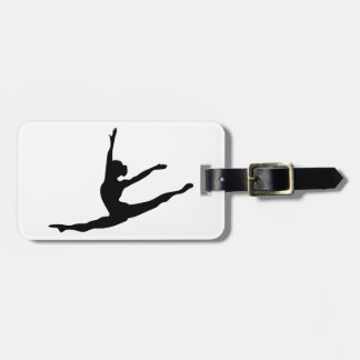 Modern Dancer Bag Tag