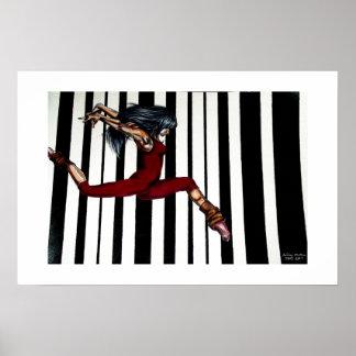Modern Dancer Poster