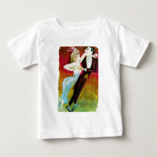 Modern Dancing Couple by Otto Dix Baby T-Shirt