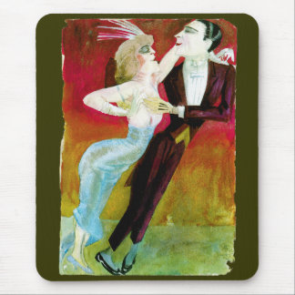 Modern Dancing Couple by Otto Dix Mouse Pad