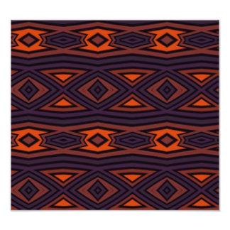 Modern dark colors pattern art photo