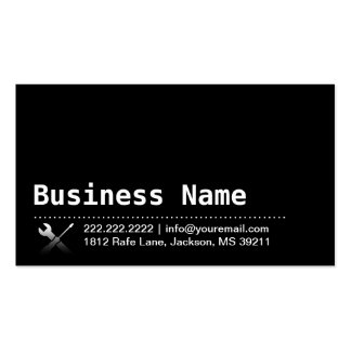 Modern Dark Repair/Handyman Business Card