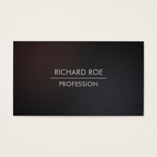 Modern Darken Creative Professional Business Cards