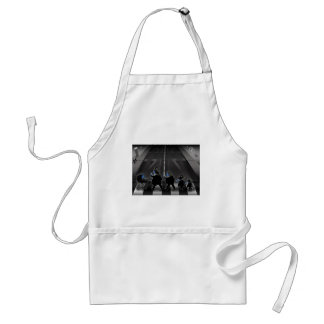 modern day crabby road adult apron