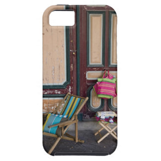 Modern day deck chairs and beach bags for sale iPhone 5 case