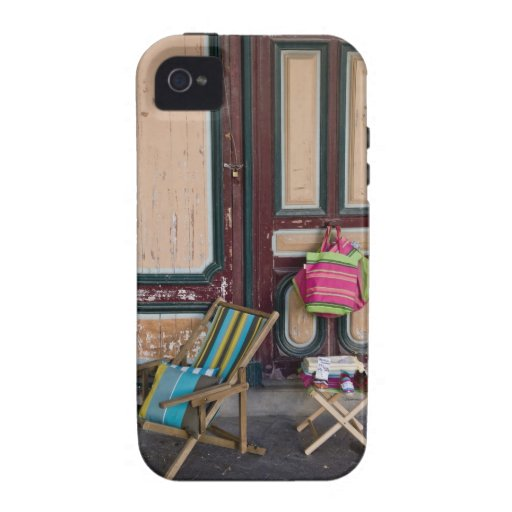 Modern day deck chairs and beach bags for sale case for the iPhone 4