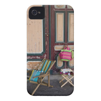 Modern day deck chairs and beach bags for sale iPhone 4 Case-Mate case