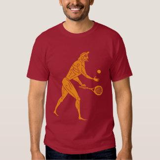 Modern Day Olympian Tennis Dark T-Shirt