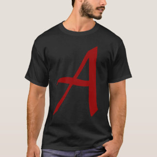 Modern day scarlet letter - A for Atheist T-Shirt