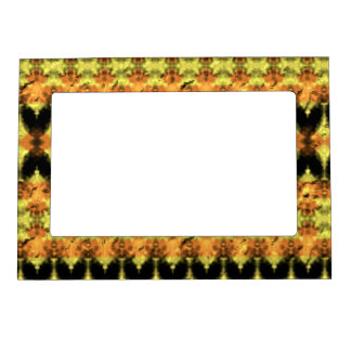 Modern decorative abstract art picture frame magnets