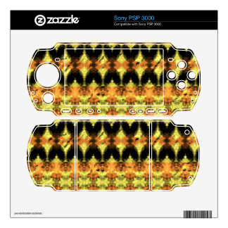 Modern decorative abstract art skins for PSP 3000