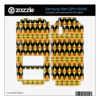 Modern decorative abstract art skin for samsung rant