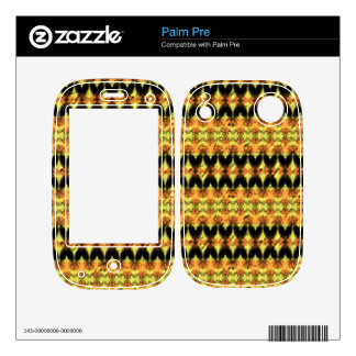 Modern decorative abstract art skin for palm pre