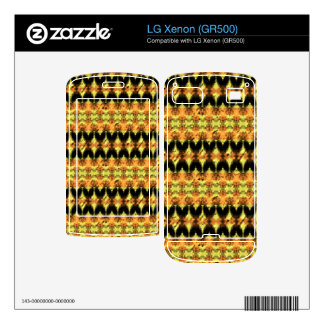 Modern decorative abstract art decals for LG xenon