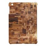 Modern Decorative Wood Bricks iPad mini Case
