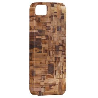 Modern Decorative Wood iPhone 5 Case