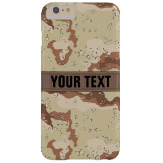 Modern Desert Camo Personalized Barely There iPhone 6 Plus Case