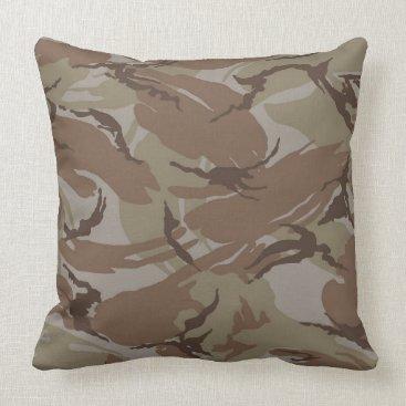 Modern  Desert Camo Pillow