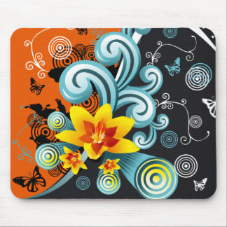 Modern design 8 mouse pad