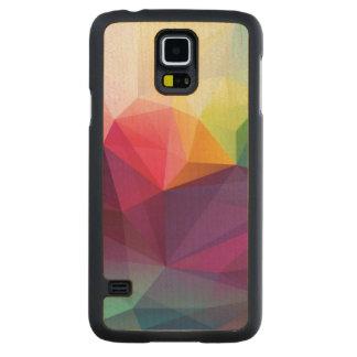 Modern Design Carved® Maple Galaxy S5 Case