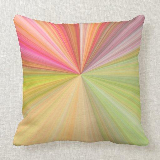 Modern Design Throw Pillows : Modern Design Cotton Throw Pillow Zazzle