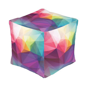 Modern Design Cube Pouf