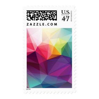 Modern Design Postage Stamp