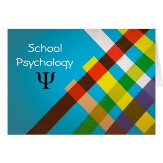 Modern Design School Psychology Note Cards
