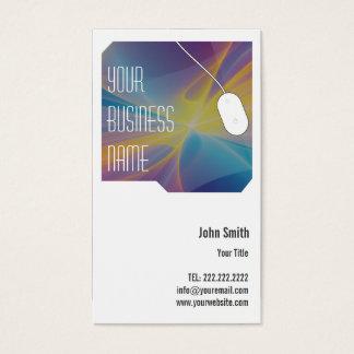 Modern Design Studio business card