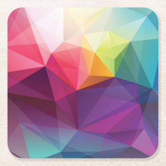 Modern Design Square Paper Coaster