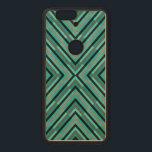 """Modern Diagonal Checkered Shades of Green Pattern Wood Nexus 6P Case<br><div class=""""desc"""">Modern diagonal checkered shades of green pattern.</div>"""