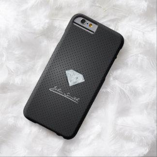 Modern Diamond Dark Metal iPhone 6 Case