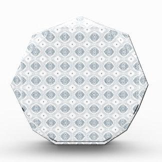 Modern Diamond Pattern Acrylic Award