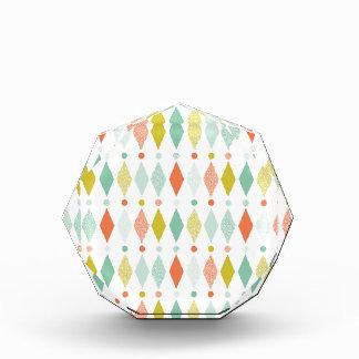 Modern Diamond pattern Award