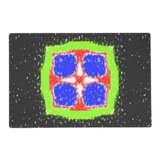 Modern different pattern placemat
