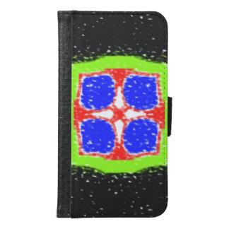 Modern different pattern samsung galaxy s6 wallet case