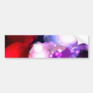 Modern Digital Abstract Art Bumper Sticker