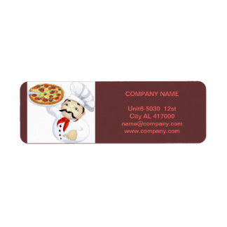 Modern diner catering deli shop food service label