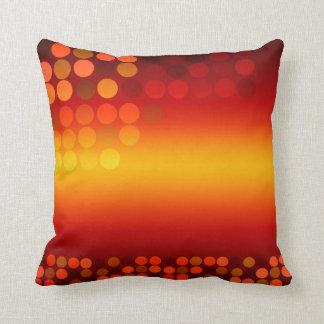 Modern Disco Sunset Big Cushion Pillow