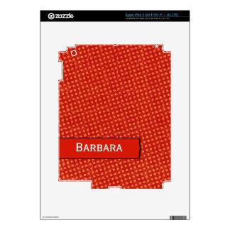 Modern Distressed Polka Dots iPad 3 Skins