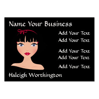 Modern Diva Appointment Card - SRF Business Card