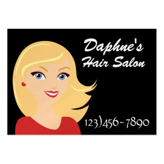 Modern Diva Salon Appointment Card - SRF Large Business Cards (Pack Of 100)