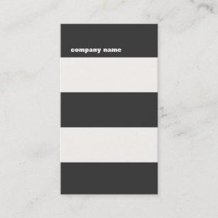 Hip business cards templates zazzle modern dj hip bold striped professional business card colourmoves