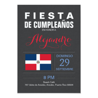 Modern: Dominican Republic Party Card