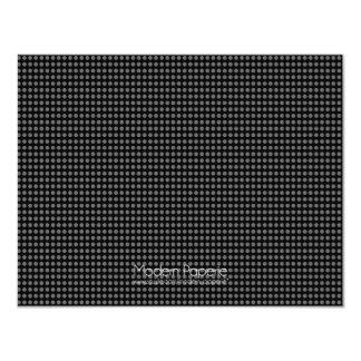 "Modern Dots (21st) Birthday Party Invitation 4.25"" X 5.5"" Invitation Card"