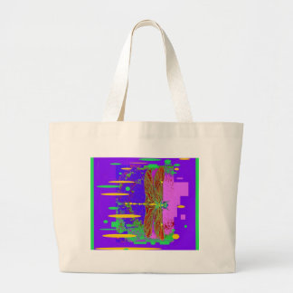Modern Dragonfly City Scape Design by Sharles Tote Bags